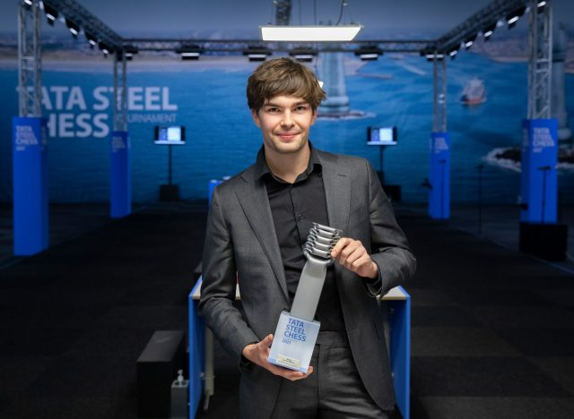 Jorden van Foreest – winner of the Tata Steel Chess Tournament 2021