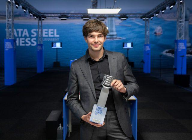 Jorden van Foreest – winner of the Tata Steel Chess Tournament 2021