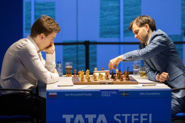 Round 2 – Tata Steel Chess Tournament 2021